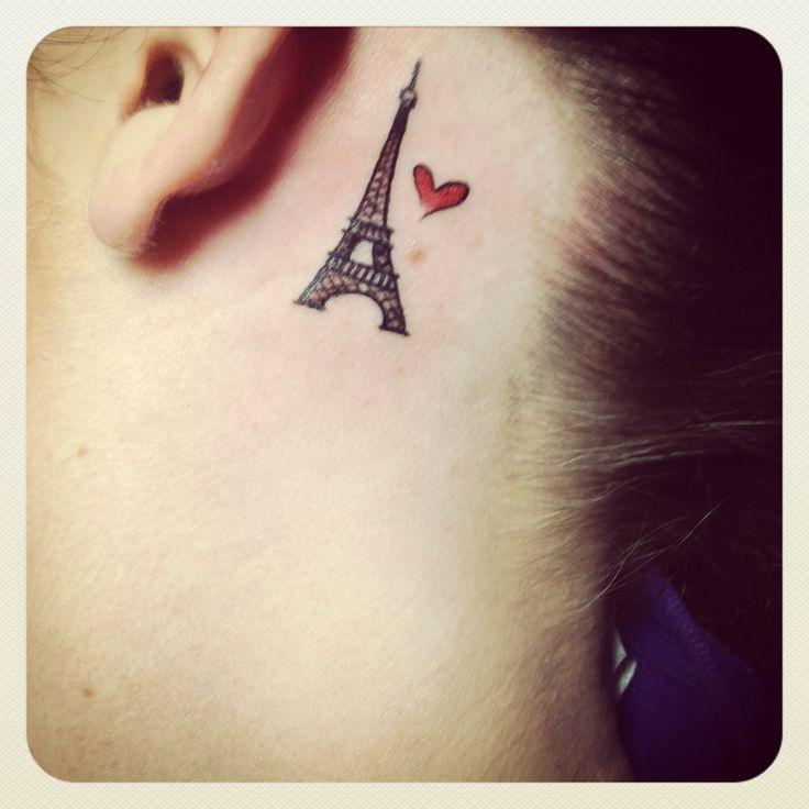 tiny eiffel tower tattoo - Google Search
