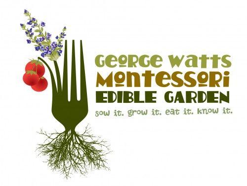 George Watts Montessori School's Edible Garden, Durham NC