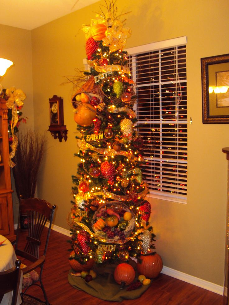 259 best Fall Tree Decor 2 images on Pinterest | Xmas ...