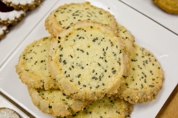 Coconut / Sesame-Seed Sable | | Crackers, Sables & Shortbread ...