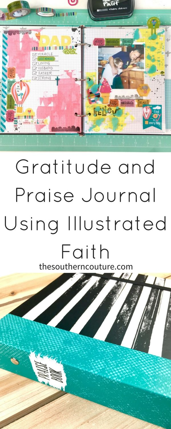 Document your faith not only in your journaling Bible, but also with a gratitude and praise journal using Illustrated Faith items to guide you.