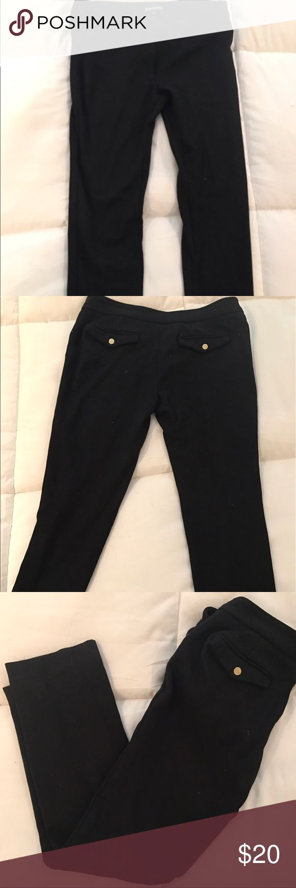 Juicy Couture Black Pants Juicy Couture Black Formal Pants. Only worn a couple of times so they are still in wonderful condition. They are really comfy but still look formal. They come down to right above my ankle bone. (First 2 pictures are of a similar pair from the same brand) Juicy Couture Pants Leggings