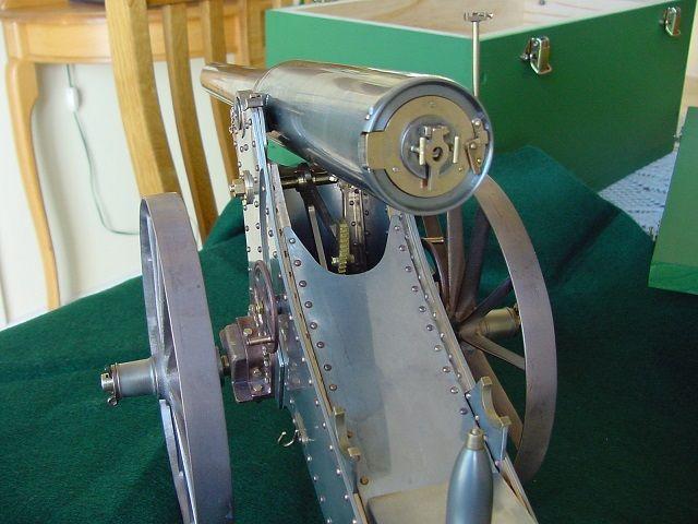 Boer War Long Tom model with 20mm bore.