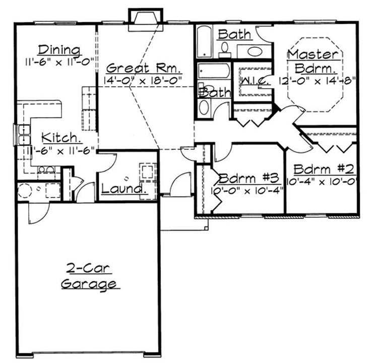 37 Best 1300 Square Foot Plans Images On Pinterest Small