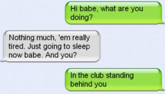 10 Caught Cheating Text Messages - NoWayGirl