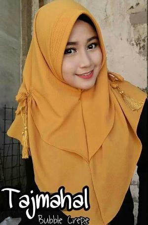 Hijab Instan Kerudung Jilbab Instan khimar tajmahal tazmahal rumana kerut tali tasel