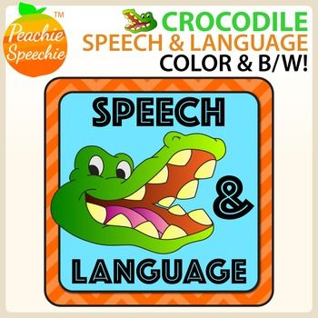 This 148-page crocodile themed packet (74 color pages and 74 black line pages) is perfect for use with or without the Crocodile Dentist game! This packet contains a large variety of placemats/flashcards to target speech and language skills. This download contains the following: Articulation Mats for the following soundsCH (initial, medial, and final position)SH (initial, medial, and final position)S (initial, medial, and final position)R (initial, medial, and final position)M (initial…