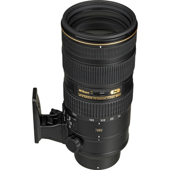 Nikon AF-S Nikkor 70-200mm f/2.8G ED VR II Lens $2179 (september 2011). A girl can dream.