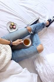 Image result for ripped jeans and coffee images