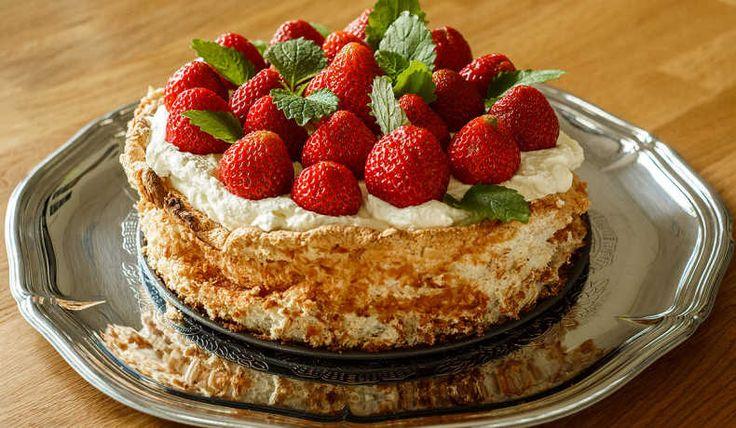 Lättgjord marängtårta - Smulan - Recept
