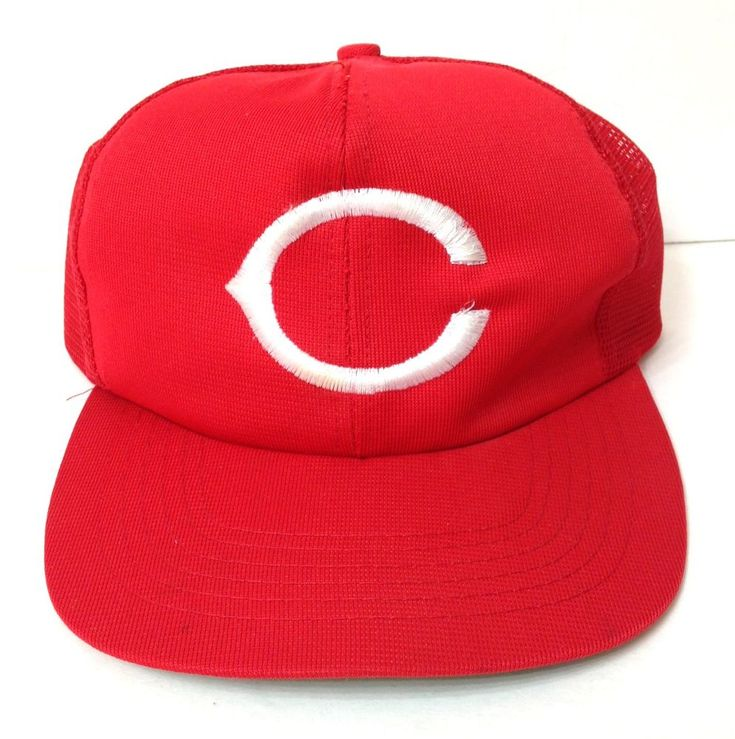 best authentic 37487 c3abb ... black 9forty adjustable new era caps hatstore 050fe c3b5f discount code  for rare vtg 80s cincinnati reds trucker snapback hat big c logo men women