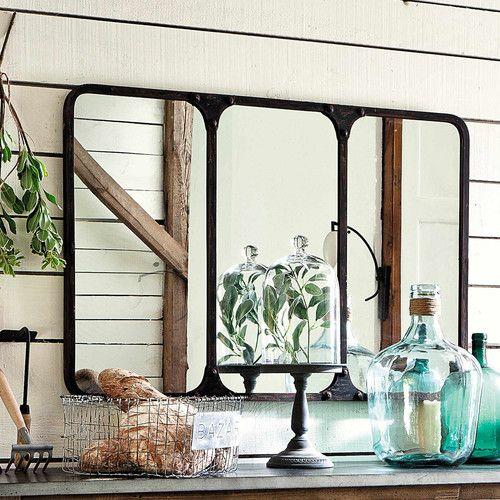 17 migliori idee su specchio anticato su pinterest - Specchio stile industriale ...