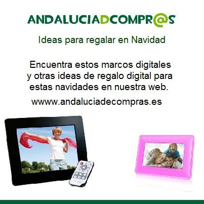 En la sección de #electrónica de Andaluciadecompras.es puedes encontrar marcos digitales, cámaras de #fotos, #videoconsolas, etc