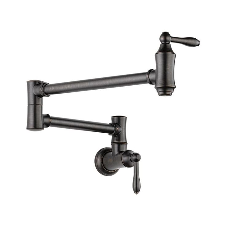 1177LF-RB Traditional Wall Mount Pot Filler Faucet - Traditional : Kitchen Products : Delta Faucet
