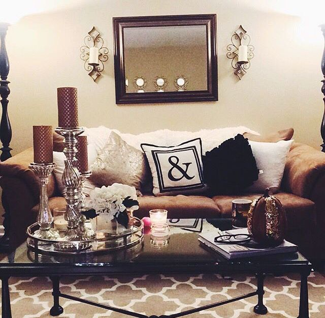 1000 Ideas About Brown Couch Decor On Pinterest Living Room Brown Cozy Li
