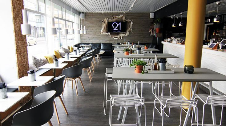 Cafe & Bar 21 restaurant -Rovaniemi, Lapland, Finland