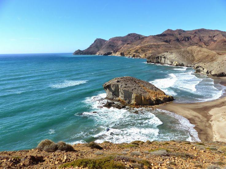 Hidden Bays of Cabo de Gata - Hiking the Volcanic Coastal Path from San Jose to Playa del Monsul