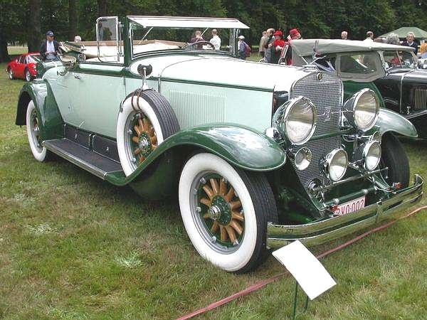 1928 Cadillac Convertible Coupe