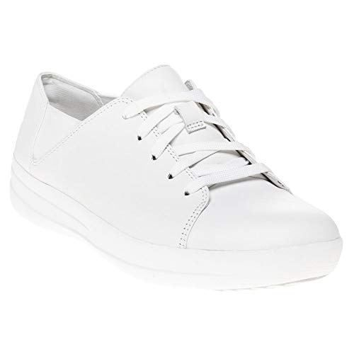 cb764b496 FitFlop Women s F-Sporty Leather Lace-Up Sneakers