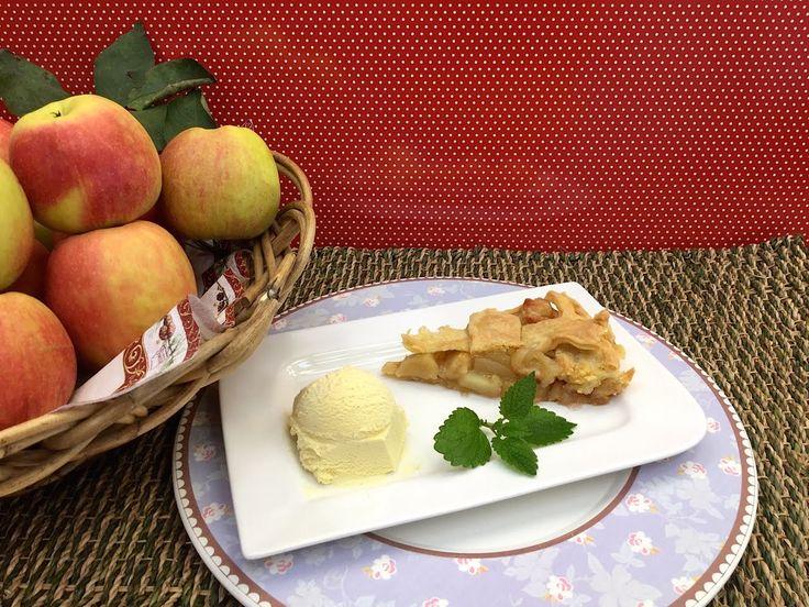 Nejlepší originální Americký jablečný koláč recept - Vařte s Majklem