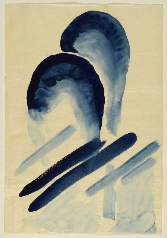 "Georgia O'Keeffe (American, 1887-1986) - ""Blue-03"", 1916"