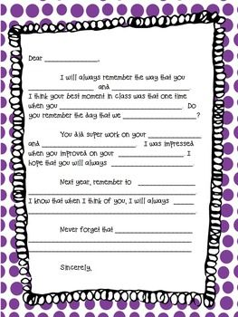 fdf27d26f2aa25b1bc4e57870c2ecdca--goodbye-gifts-letter-templates Teacher Appreciation Letter Th Grade Template on sign up sheet, superhero theme word, luncheon flyer, student note, luncheon invitation, letter 4th grade, weekly schedule, 2nd grade, note card, for notes, night invite,