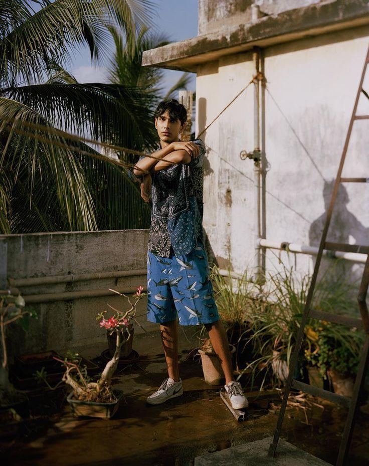 Ishaan H, 22, India Ishaan wears shirt Diesel. Photography Bharat Sikka