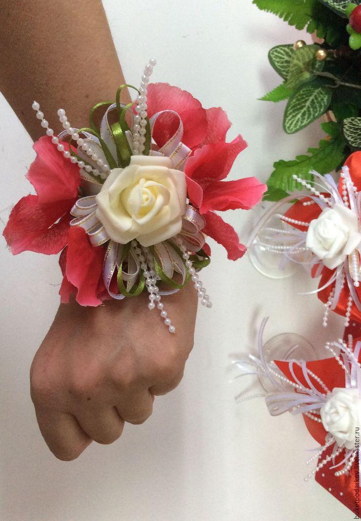Купить Браслет для подружки невесты - комбинированный, браслеты для подружек…