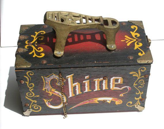 shoe shine box  2