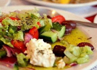 Greek salad @ I Kiriti (Amsterdam)