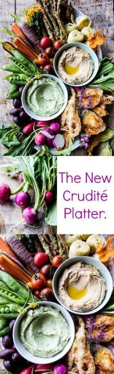 The New Crudité Platter   halfbakedharvest.com @hbharvest