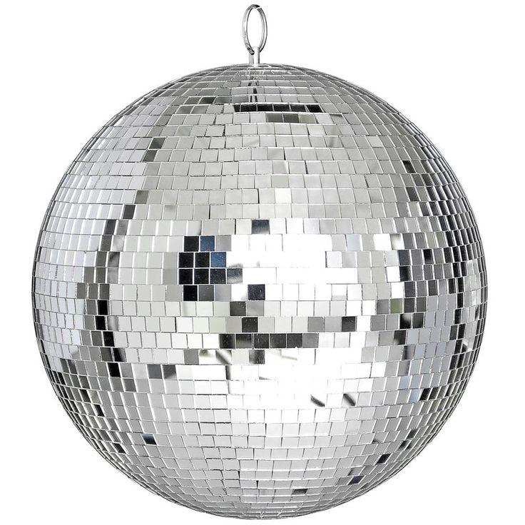 """Amazon.com: Yescom 12"""" зеркало стеклянный шар Диско DJ танец декоративное освещение сцены вечеринка дома бизнес-витрины украшения: музыкальные инструменты"""