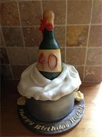 what a brilliant cake for a 40th