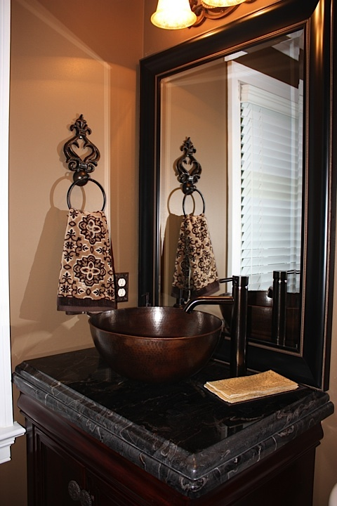 1000 images about powder room on pinterest copper for Unique home goods