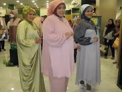 busana cantik faira tips berbusana muslim untuk wanita yanag berbadan gemuk atau besar.