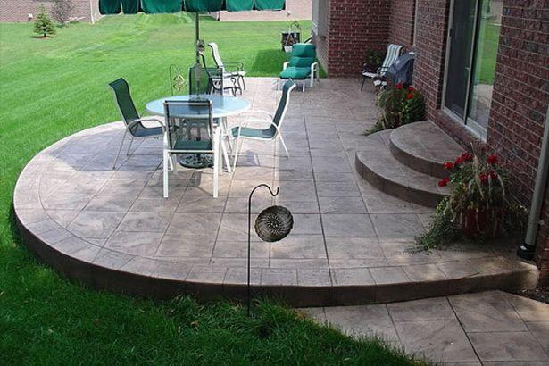 Simple Concrete Patio Design Ideas Concrete Patio Concrete