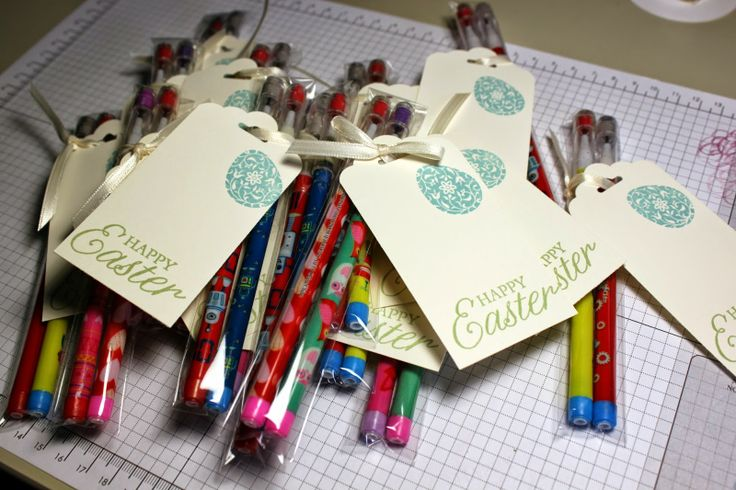 Stacy's Stampin' Spot: School Easter Treats Stampin Up