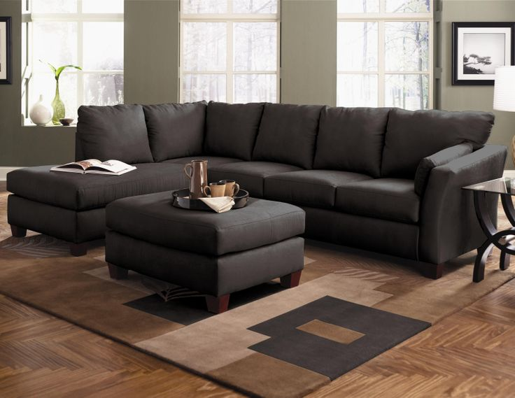 Klaussner Drew Two Piece Sectional Sofa with Chaise - Knoxville Wholesale Furniture - Sofa Sectional Knoxville : klaussner drew sectional - Sectionals, Sofas & Couches