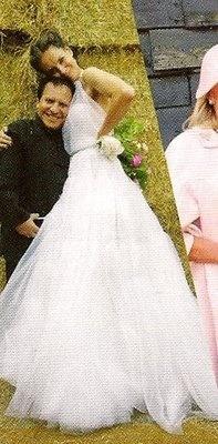 Azzedine Alaia Wedding Dresses azzedine alaia her wedding