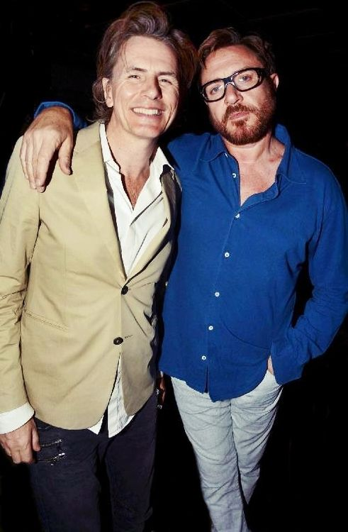 Two of my favourite men! Mr John 'Tabulous' Taylor and Mr Simon 'Lets get funky' Le Bon. #duranduran