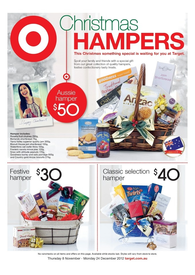 Target Catalogue: Christmas Hampers | Lasoo Online Catalogues