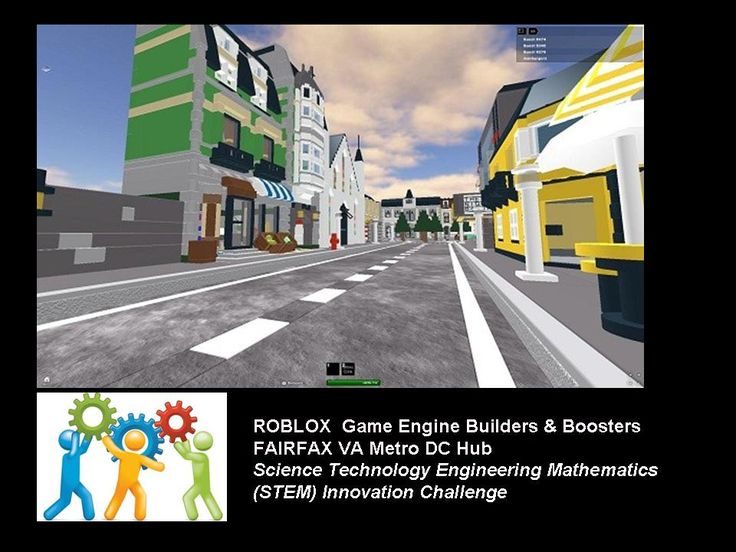 Roblox is a popular game engine oriented toward kids and teens. The game engine with its own scripting language called Lua 5  allows game builders to create their own virtual games using the tools &  character animations of the game engine.
