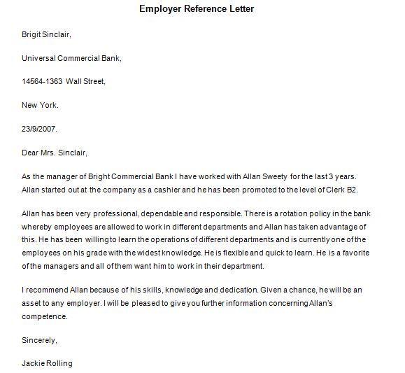 Best 25+ Personal reference letter ideas on Pinterest Resume - job reference letter samples