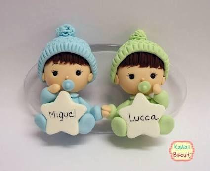 lembrancinha de maternidade biscuit chaveiro - Pesquisa Google