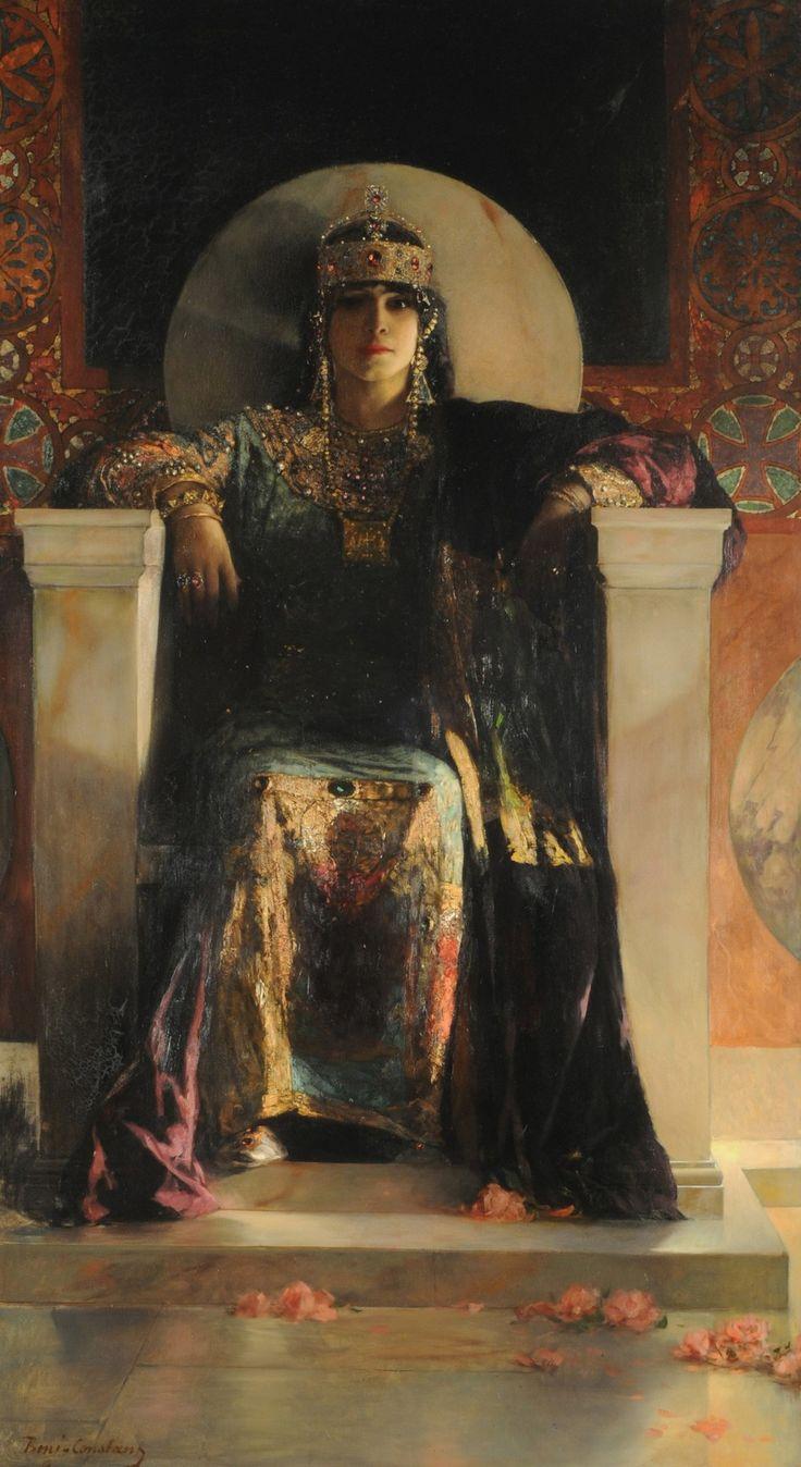A Dash of Art History 19th-century Orientalist painter Benjamin Constant