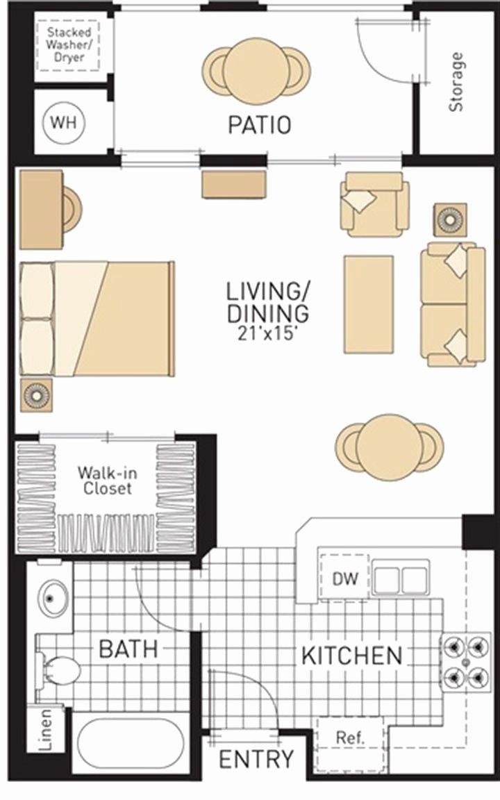 400 Sq Ft Apartment Floor Plan Google Search Studio Apartment Plan Small Apartment Plans Studio Floor Plans