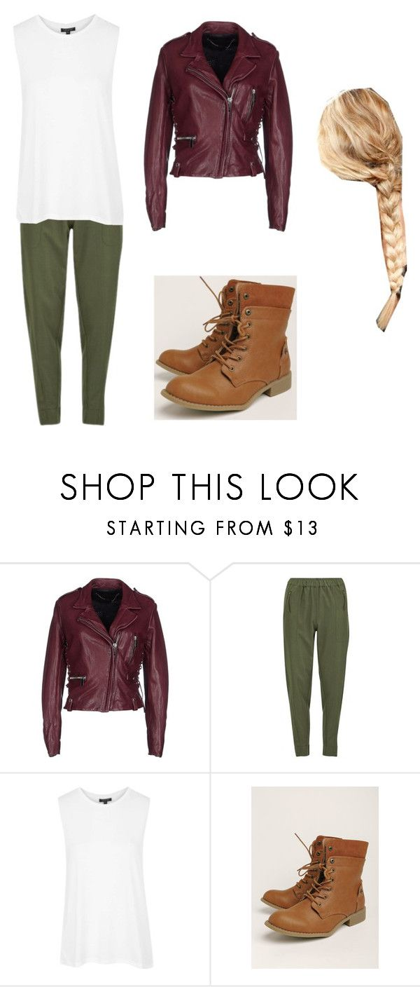 """""""Lily Carter as """"Goldilocks"""" on OUAT"""" by loganlovesniall ❤ liked on Polyvore featuring Barbara Bui, Vero Moda and Topshop"""