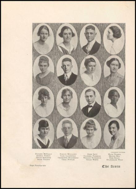 1919 Alameda High School Yearbook via Classmates.com