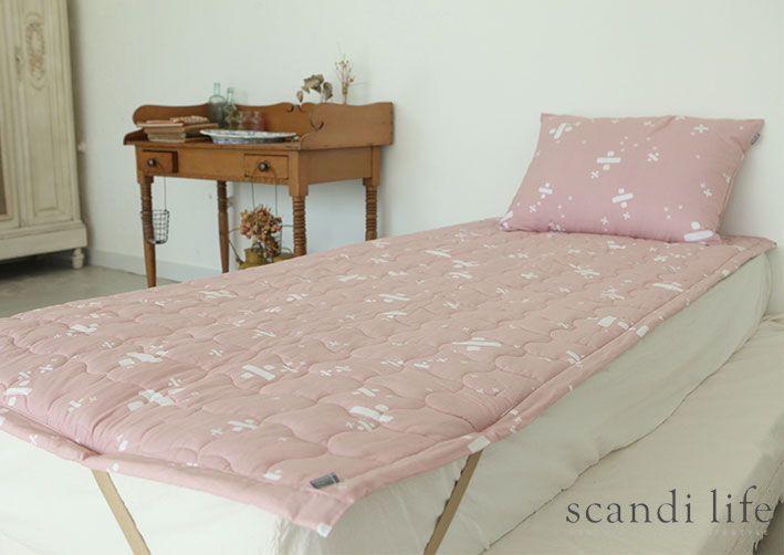 방수요,방수패드,매트리스패드,면러그,요,싱글,퀸,킹 패드, water resistant mattress pad, mattress cover, single bed, queen bed, king bed cover, Scandi Life, Densfinn, scandinavian, pink
