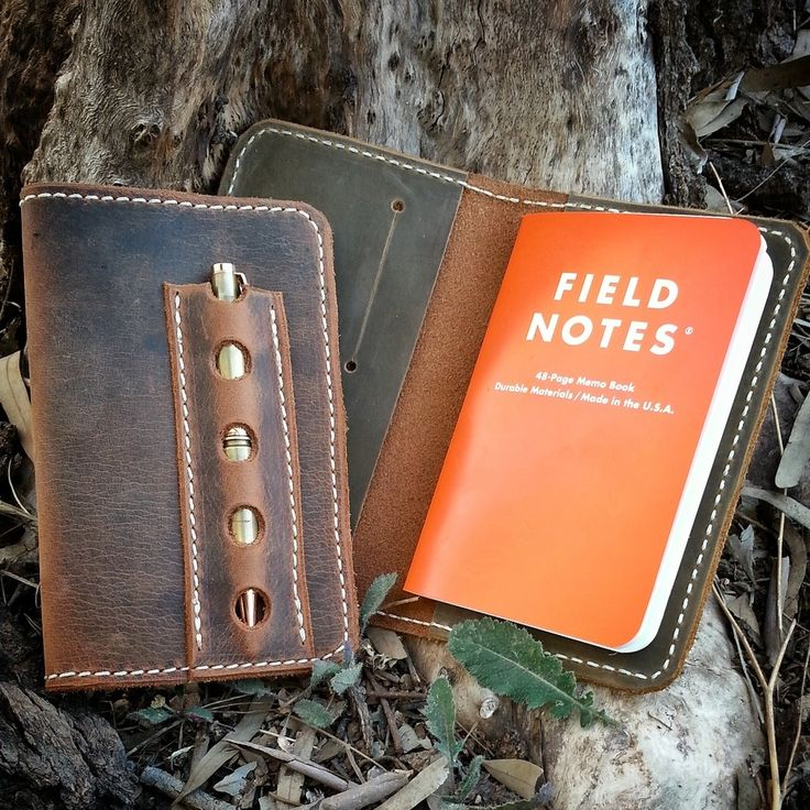 The Heritage is a notebook cover all about vintage classic style. Already worn in and distressed yet ready to keep your notebooks safe for years to come.  It is built tough like our Drifter, minus the closure strap and attachment ring. - outer shell is 5/6oz distressed buffalo leather-inner sleeves are 5oz tough oil tanned leather- inner sleeves have 2 integrated cards slots each- front cover features integrated pen sleeve that will hold a variety of pen styles***finish wi...